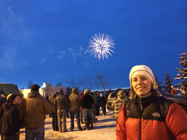 Fireworks and carnival @ Fur Rondy